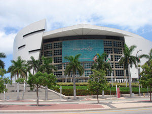 NBAチームの本拠地として有名なAmerican Airlines Arena